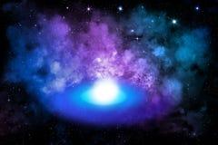 Powstawać nowa planeta w galaxy Obraz Royalty Free