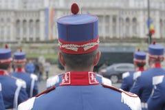 Powtórka dla Rumuńskiej święto państwowe parady Zdjęcia Stock