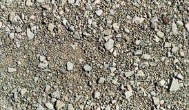 Powtórkowi wzorów kamienie, żwir i Fotografia Stock