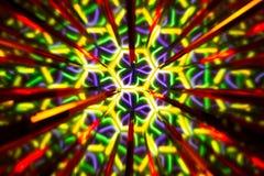 Powtórkowy wzór odbiciami wizerunek w lustrach Koloru kalejdoskopowy wizerunek ilustracji