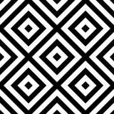 Powtarzalny geometryczny wzór Abstrakcjonistyczny monochromatyczny graniasty backgr royalty ilustracja