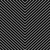 Powtarzalny geometryczny wzór z nachylaniem, pochylone linie ilustracji