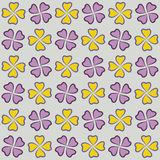 Powtarzalny tło z kwiatami dla strony internetowej, tapeta, tekstylny druk, tekstura, editable, Obrazy Stock