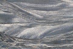 Powulkaniczna piasek tekstura Obraz Stock