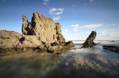 Powulkaniczna skała Fotografia Royalty Free