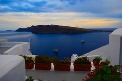 Powulkaniczna wyspa blisko santorini Fotografia Royalty Free