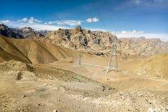 Powulkaniczne góry w India Obraz Stock