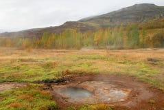 Powulkaniczne gorące wiosny Obrazy Stock
