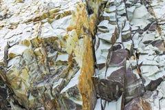 Powulkaniczne skały Fotografia Royalty Free