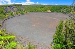 powulkaniczni kraterów zwrotniki Obrazy Stock
