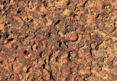 Powulkaniczny Kamienny tekstury tło fotografia royalty free