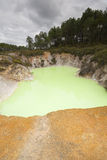 powulkaniczny kopalny basen Obraz Stock