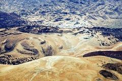 Powulkaniczny krajobraz. Obrazy Stock