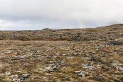 Powulkaniczny krajobraz przy Snafellsnes półwysepem Obraz Royalty Free