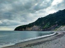Powulkaniczny Krajobrazowy morze Obrazy Stock