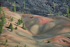 powulkaniczny Lassen park narodowy Zdjęcia Royalty Free