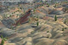 powulkaniczny Lassen park narodowy Zdjęcie Royalty Free