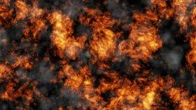 Powulkaniczny popiół i dym zbiory