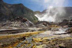 Powulkaniczny pustkowie Zdjęcie Royalty Free