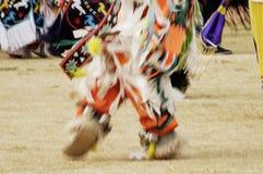 Powwow 8. Native american dancers at a Powwow in Arizona - blur Royalty Free Stock Photos