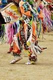 Powwow dancers 10. Native american dancers at a Powwow in Arizona Royalty Free Stock Photo