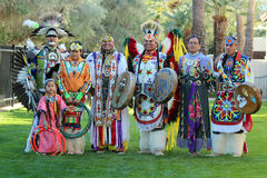 Powwow Dancers - Heard Museum stock image