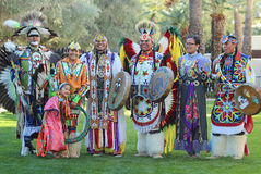 Powwow Dancers - Heard Museum Stock Photo