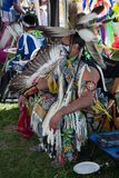 Powwowindianfestival royaltyfria foton