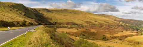 A470 Powys, Wales, UK Arkivbilder