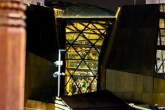 Powystawowe sala w evening godzinach Włochy zdjęcie stock