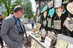 Powystawowi handmade towary Obraz Stock