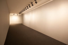 Powystawowy pokój z światłami Obrazy Stock