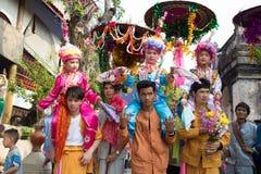 Poy Sang Long festival. Royaltyfri Foto