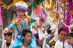 Poy Sang Long-Festival. lizenzfreies stockfoto