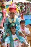 Poy Sang Long-Festival. lizenzfreie stockbilder