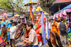 Poy Sang Long festival Stock Photos