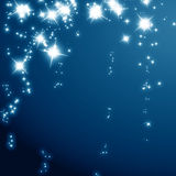 Połyskuje gwiazdy Obrazy Stock