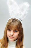 pozłacany królik Fotografia Royalty Free