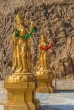 Poz?ocista Bodhisattva statua w Thimphu obrazy stock