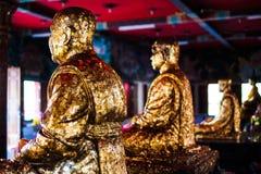 Pozłocisty Buddha Obrazy Royalty Free