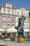 POZAN, POLAND/EUROPE - 16 SEPTEMBRE : Fontaine de Mars à Poznan Photo stock