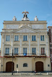 POZAN, POLAND/EUROPE - 16 SETTEMBRE: Palazzo Dzialynski in Pozna Immagini Stock Libere da Diritti