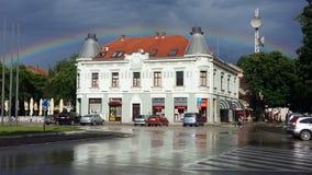 Pozarevac efter regnet Royaltyfri Fotografi