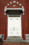 pozatym drzwi domu Obrazy Stock