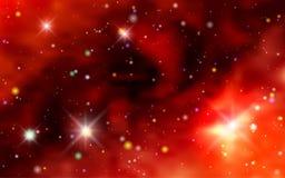 Pozaziemscy tło galaxies, mgławica i jaśnienie gwiazdy, Fotografia Stock