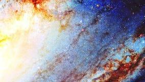 Pozaziemska przestrzeń i gwiazdy, barwimy pozaziemskiego abstrakcjonistycznego tło i graficznego skutek ilustracji