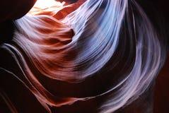 Pozaziemskie spirale przy antylopa jarem fotografia stock