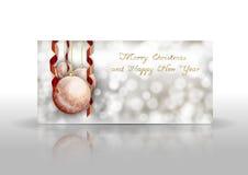 2007 pozdrowienia karty szczęśliwych nowego roku Obraz Stock
