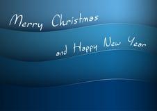 2007 pozdrowienia karty szczęśliwych nowego roku Obrazy Stock