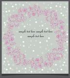2007 pozdrowienia karty szczęśliwych nowego roku Zdjęcie Stock